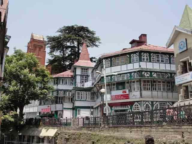 GPO heritage building in Shimla