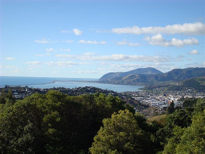 View back to Nelson