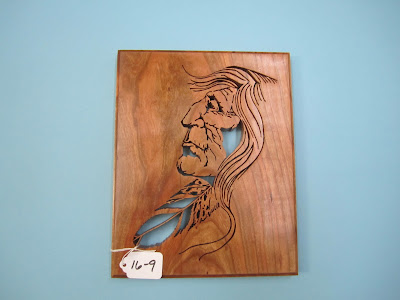 "Indian Head Cherry Pattern by Tom Mullane  ""OLD GRIZ"""