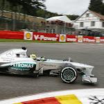 Nico Rosberg, Mercedes W04, La Source hairpin