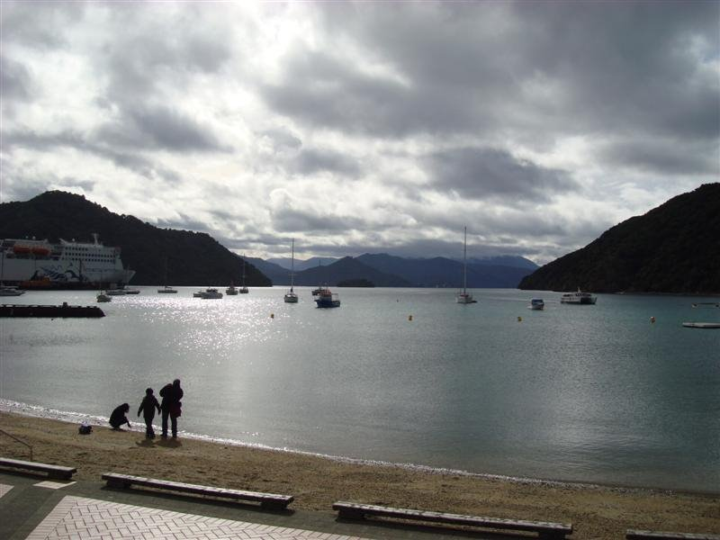 Picton Harbour from the foreshore