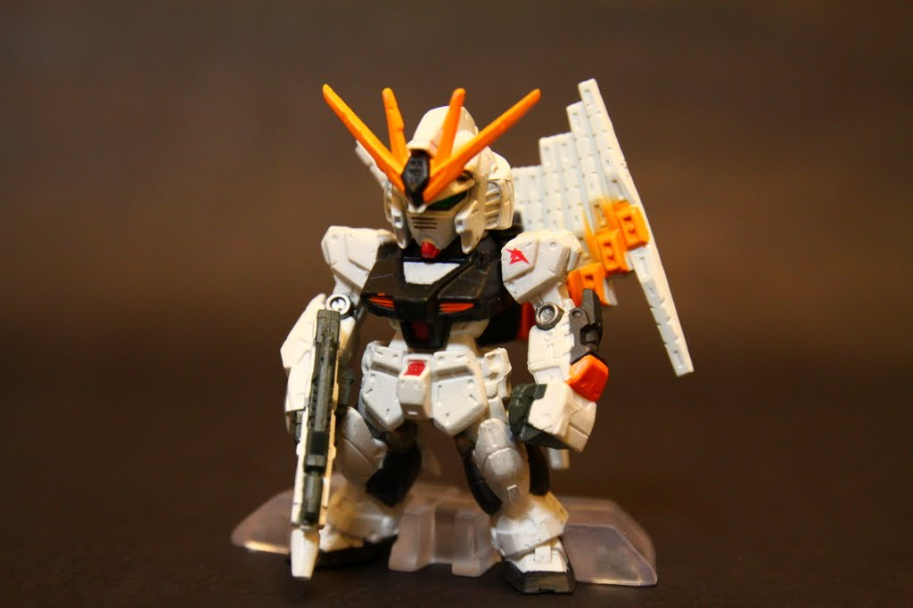 No.13 Nu GUNDAM-Beam Rifle+Fin Funnal