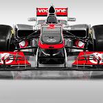 McLaren MP4-27 Mercedes front