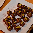Brownies choco-mangue