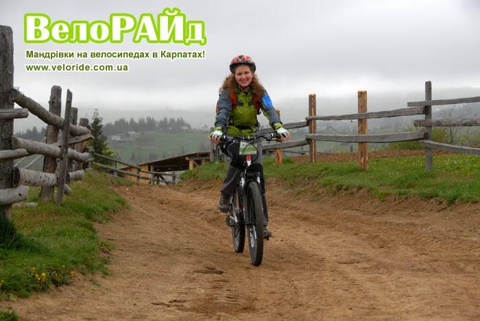 Велорайд Гірське село Вороненка