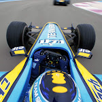 Renault R26 onboard Giancarlo Fishicella