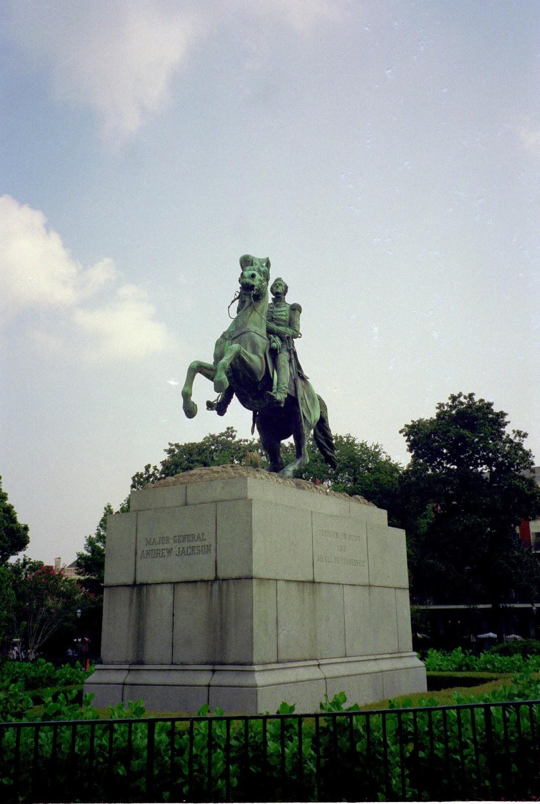 Jackson on a Horse