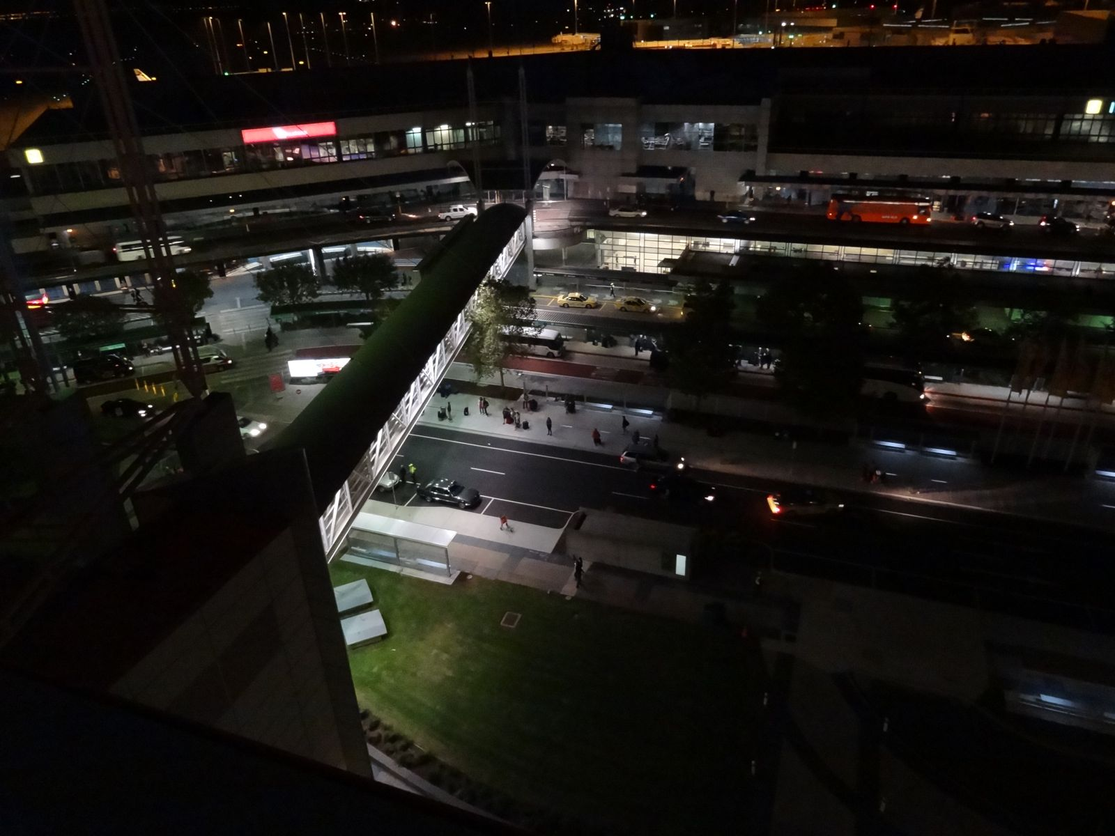 From my room at the Parkroyal at Melbourne airport