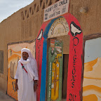 Black village in Northern Sahara