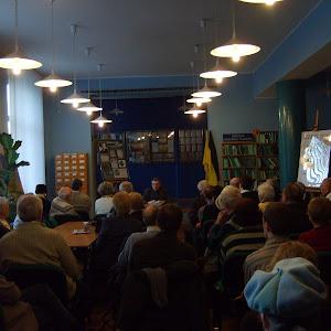 2007 rok - Spotkanie z prof. Tadeuszem Linknerem w OKKP