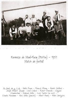 Kermesse de Menil 1951