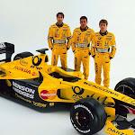 F1 car launch Jordan EJ11