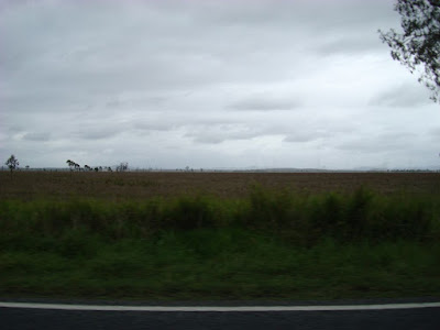 This is the view for almost all 300km. At one point there was 200km between towns!