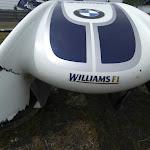 Broken nose, Williams BMW FW26