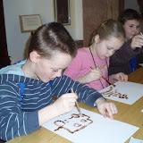 I my jsme si vyzkoušeli kreslit vlastní čokoládové obrázky