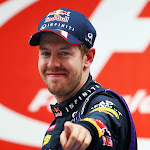 Sebastian Vettel (GER/ Red Bull Racing) after winning his F1 drivers title for the 4th time