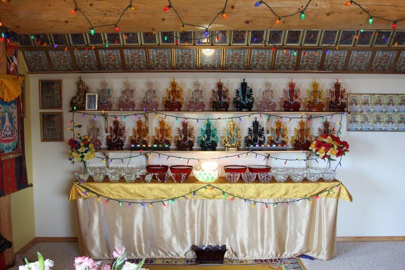 21 Tara altar