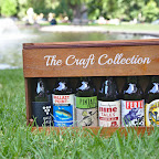 A good way to escape the heat with some craft beer in a park