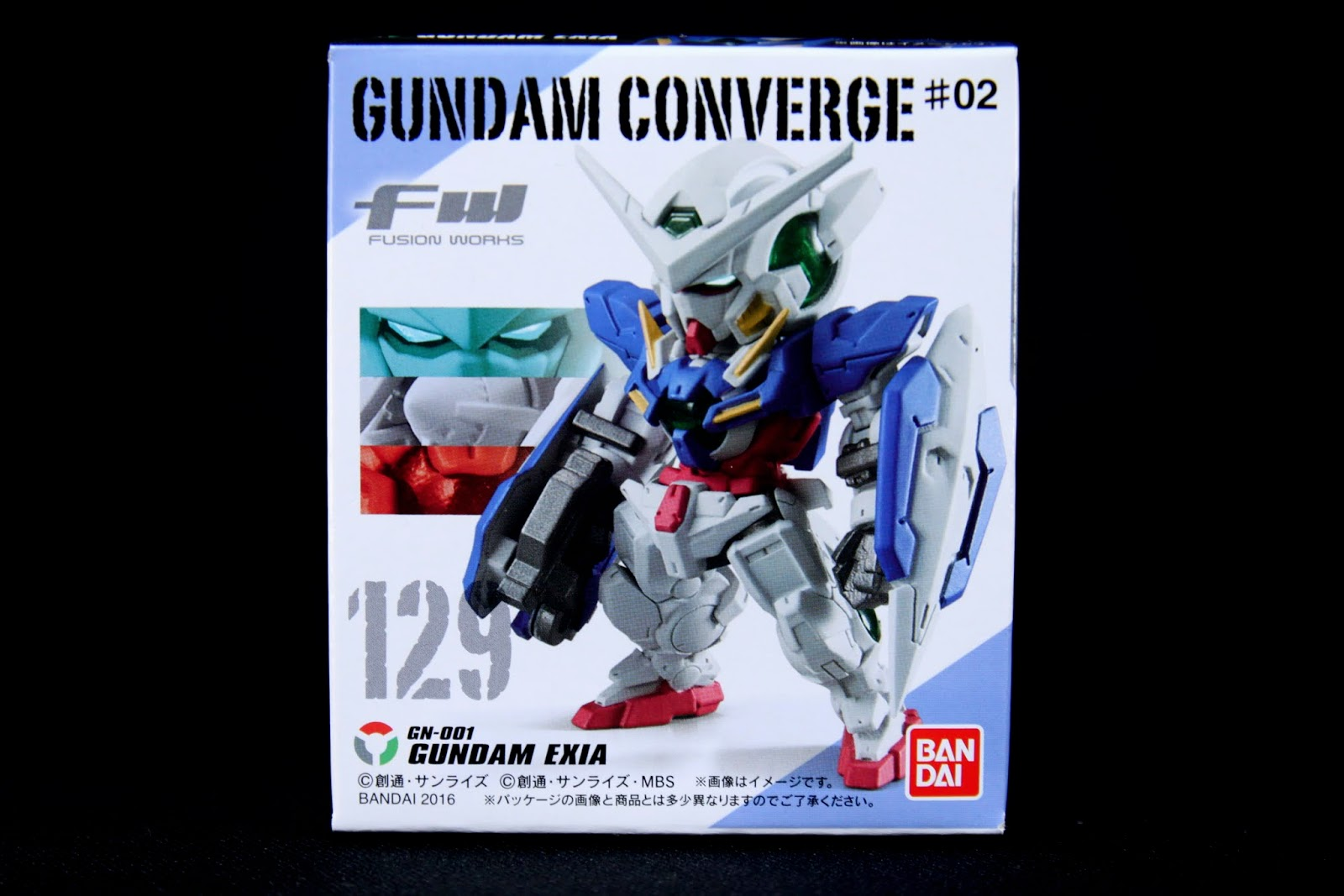 No 129 GN-001 GUNDAM EXIA; Gundam OO第一季的主役機