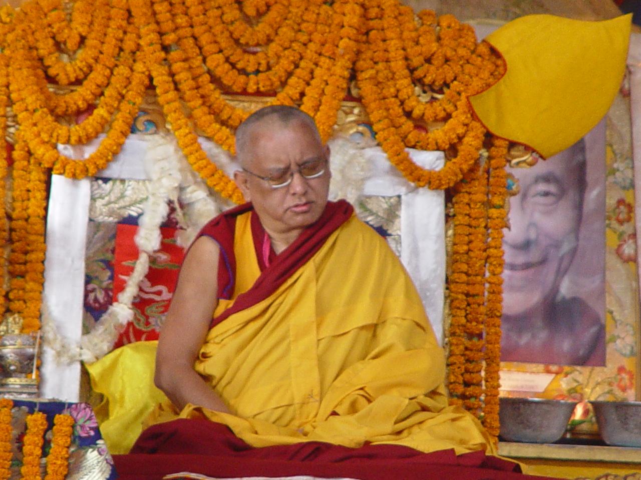 Long life puja offered Kopan Monastery December 2003.
