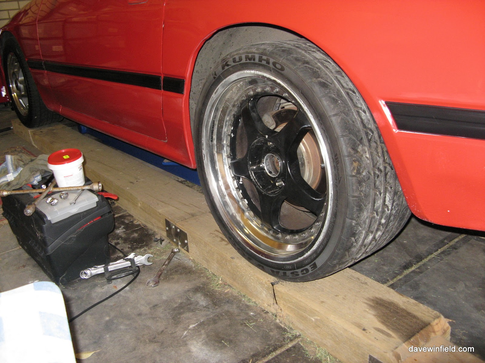 Race Wheels from the FD