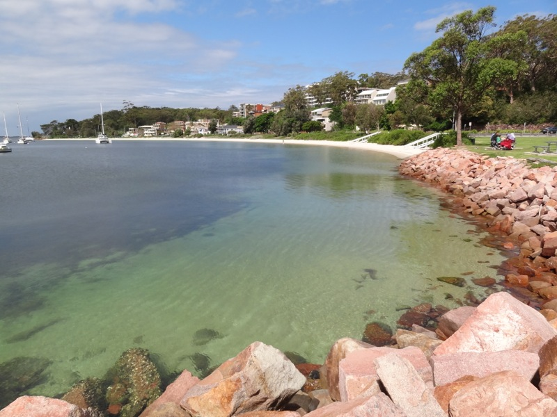 Nelson Bay looking towards fly point