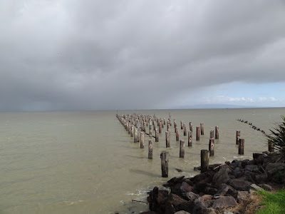Old Pier in Thames. I got saturated a few minutes later....