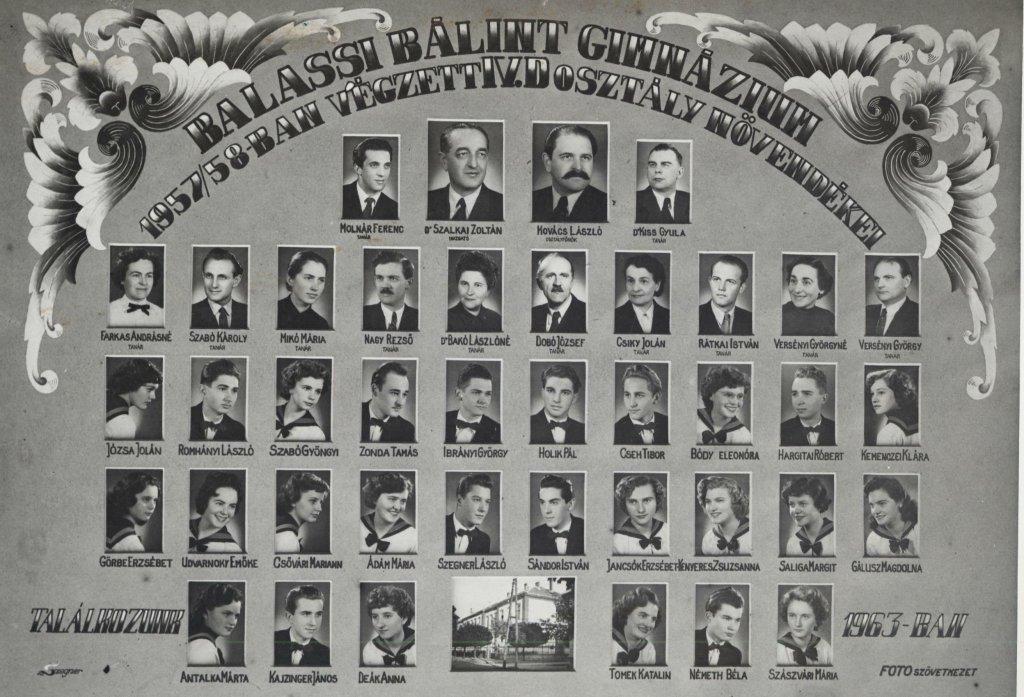1958 - IV.d