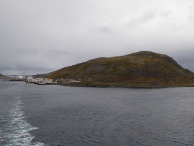 Havoysund in the middle of a storm