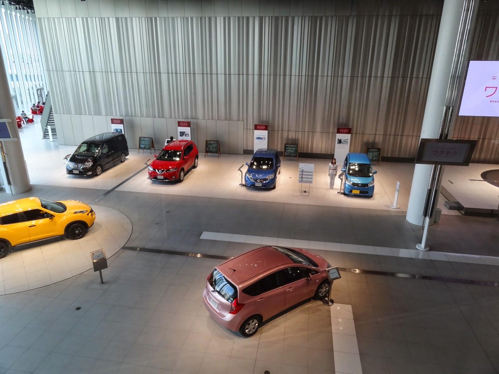 Passed through Nissans world headquarters