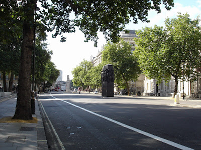 The view up Pall Mall
