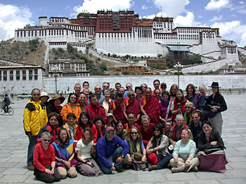 Pilgrimages at the Potala
