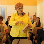 Petrécs Anna, a Boráros Imre Színház képviseletében kérdezett Varga Györgytől