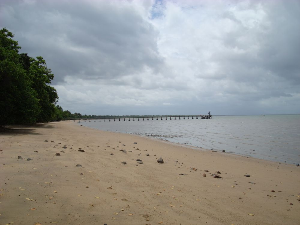 Cardwell beach. Was a good spot for lunch