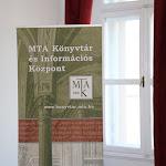 A konferenciára a Magyar Tudományos Akadémia könyvtárában került sor