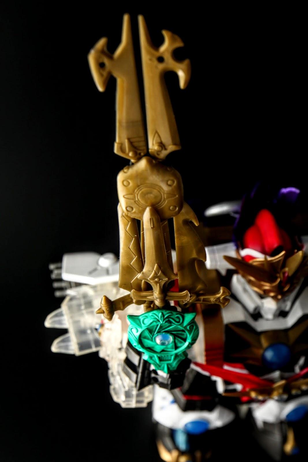六機甲神的武器組成的ジェネシスブレード