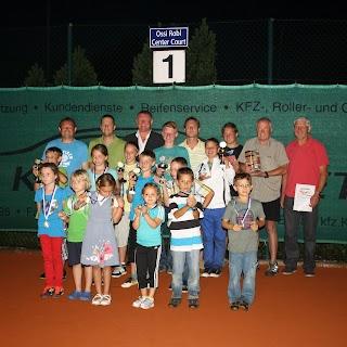Gruppenfoto Vereinsmeisterschaften 2012