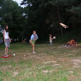 Táborová pouť (12) - hod polenem