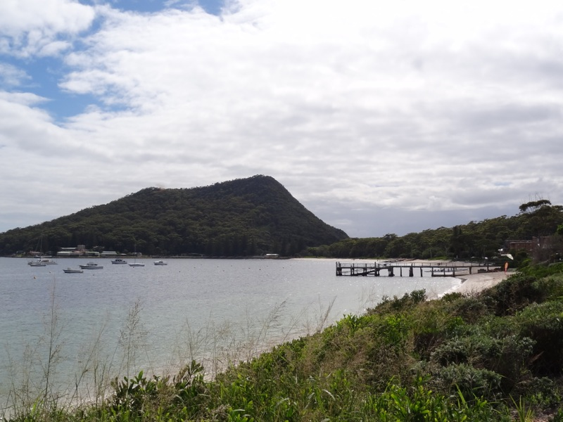 Tomaree Heads..... I'm about to climb to the top