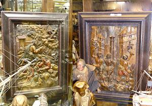 Антикварные картины 17/18-й век.