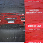 Hastings & Keefer, construction site posters