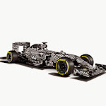 Infiniti Red Bull Racing RB11 front right view white