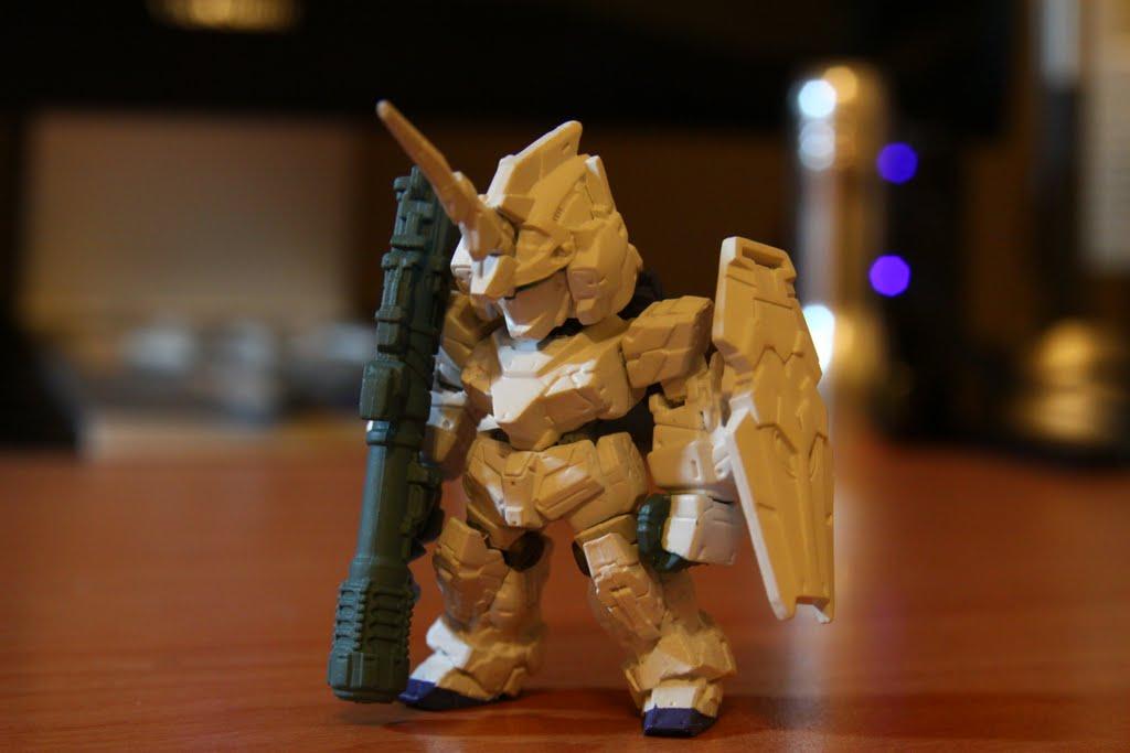 隱藏版No.7 Unicorn Gundam(Bazooka版)