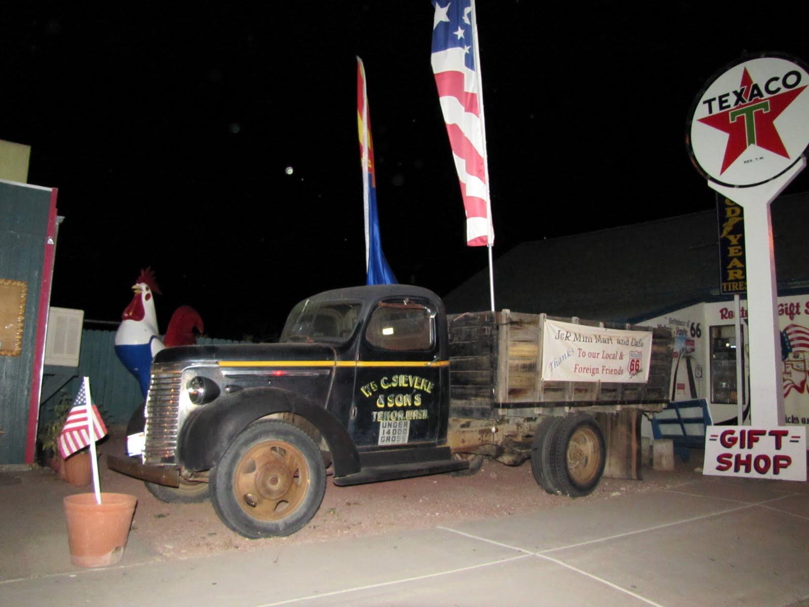 Route 66, Arizona, 1940 Chevrolet 1/2 Ton