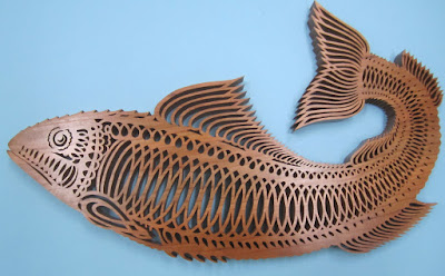 Fret Fish Pattern sold by cherry tree #1344