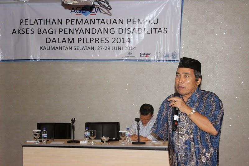 PPDI Trainer at Observer Workshop South Kalimantan 27-28 June 2014