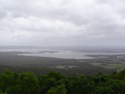 Lake Wallis from Cape Hawke Lookout