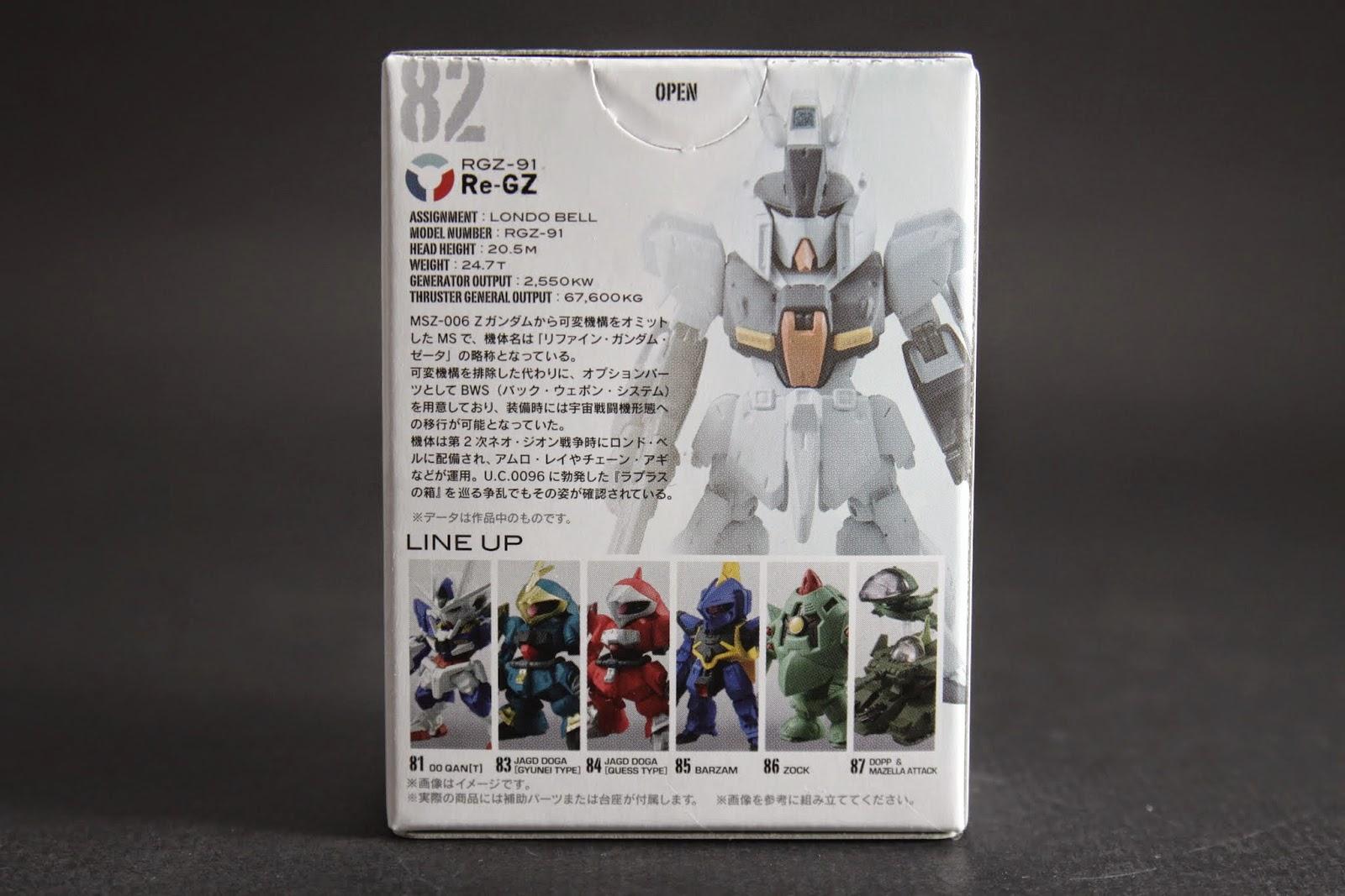 原名為Refined Gundam Zeta 取消的變形機構取而代之的是外掛式武裝BWS