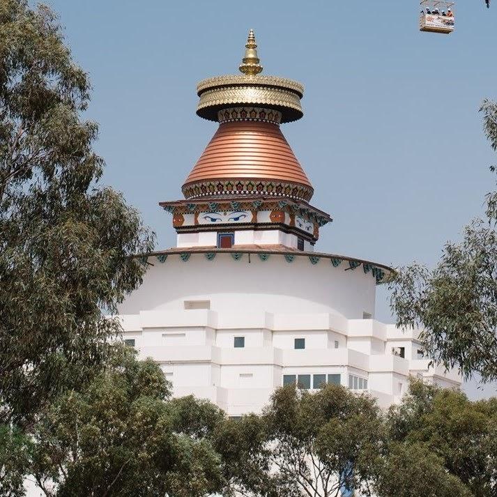 The Great Stupa of Universal Compassion, Bendigo, Australia.