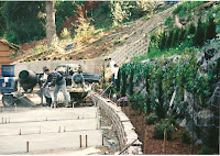 1996 - Working on side of Temple 2